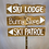 Thumbnail: Wood Ski Sign