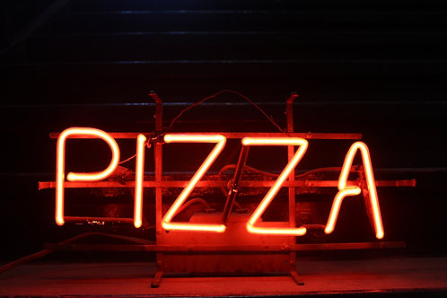 Pizza Red Neon Sign