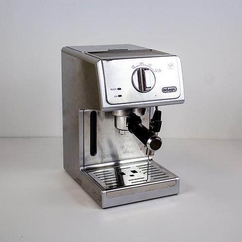 Silver Modern Espresso Machine