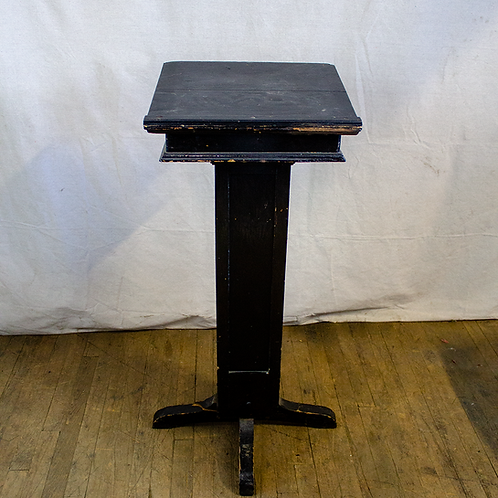 Black Wood Podium