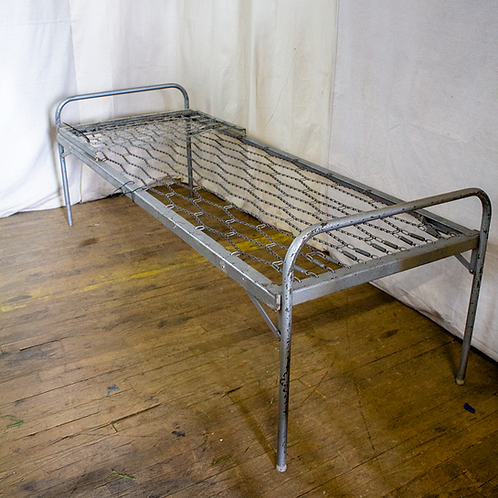 Military Steel Folding Bed Frame