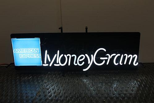American Express MoneyGram Neon Sign
