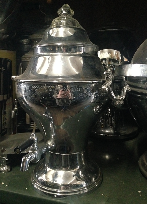Large Silver Punch Bowl