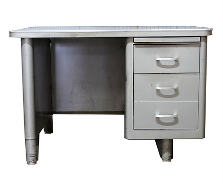 Single Pedestal Steel Tanker Desk