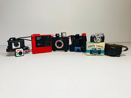 Mini Assorted Vintage Cameras
