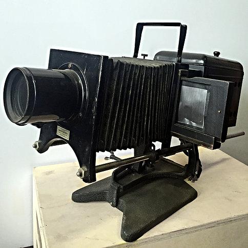 Early Film Slide Projector