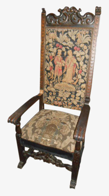 Tapestry Throne