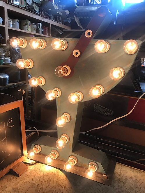 Light Up Martini Sign
