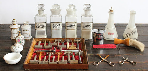 Barber Shop Counter Accessories