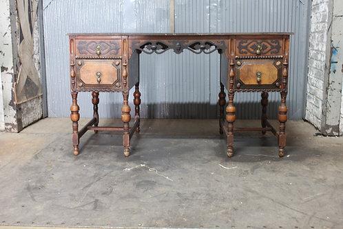 Ornate Wood Writing Desk