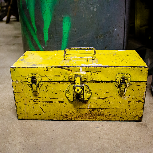 Yellow Metal Tool Chest