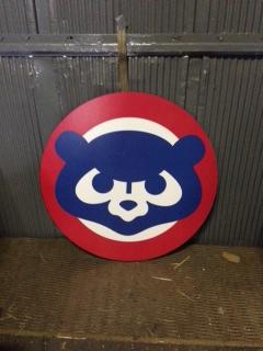 Chicago Cubs Logo Cutout