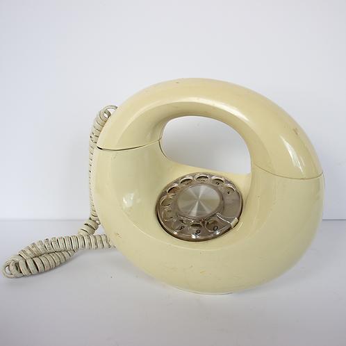 Donut Rotary Telephone 1960s