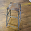 Thumbnail: Metal Industrial Stool with Square Seat