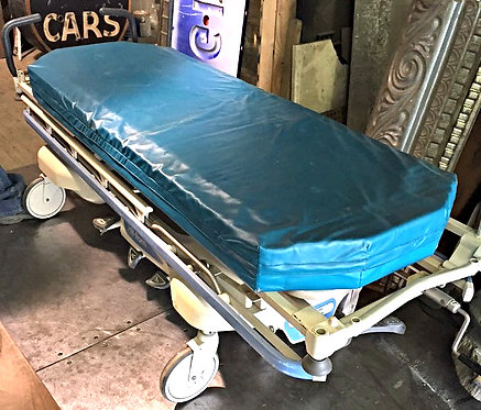 Blue Modern Gurney / Patient Bed