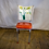 Thumbnail: Floral Back Diner Chair