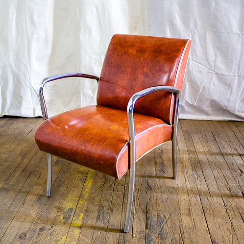 Burnt Orange Chair
