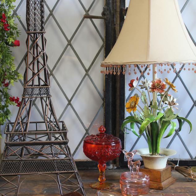 french vingette  Tabletop eifle tower
