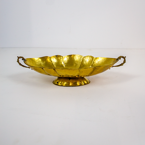 Gold Toned Decorative Bowl
