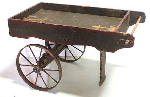 Rustic Brown Peddler's Cart