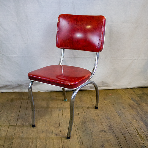 Red Classic Diner Chair