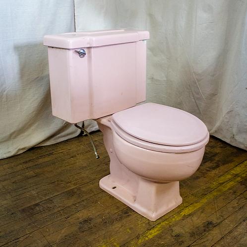 Light Pink Toilet Fixture