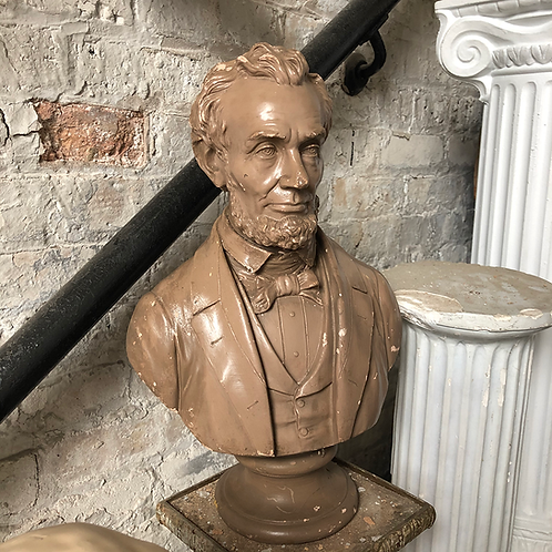 Abe Lincoln Bust Statue
