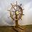 Thumbnail: Large Ship Wheel on Stand