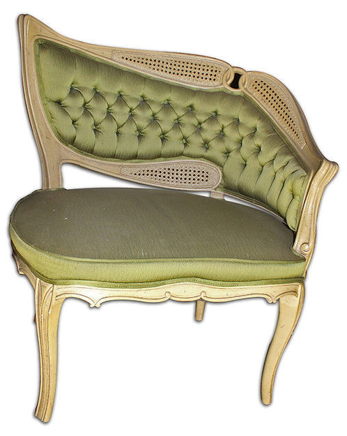 Green Tufted Chair