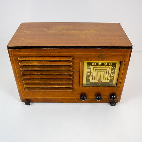 Emerson Wooden Radio 1940s