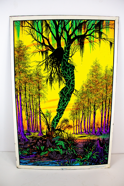 Swamp Mirage Psychedelic Poster