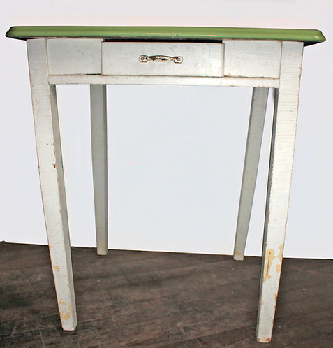 Green Top Desk or Side Table