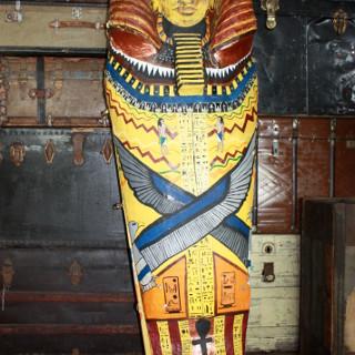 Egyptian Pharaoh sarcophagus