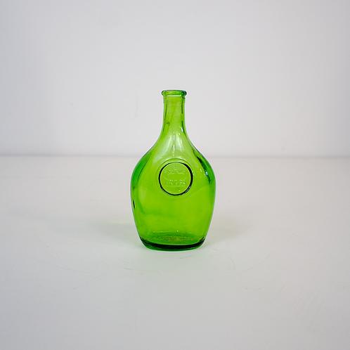 Small Green Glass Bottle