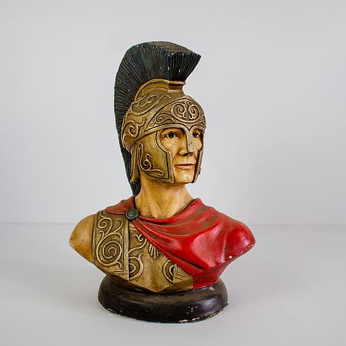Ceaser Bust Statue