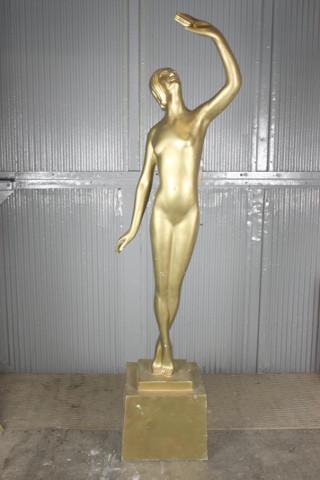 Golden Lady Statue