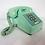 Thumbnail: Aqua Push Button Telephone 1960s
