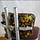 Thumbnail: Brown Leather Industrial Stools