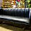 Thumbnail: Barrel Back Leather Couch
