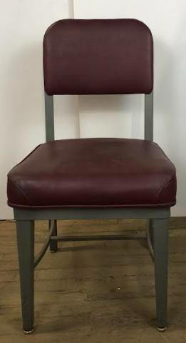 Maroon Office Chair Steelcase