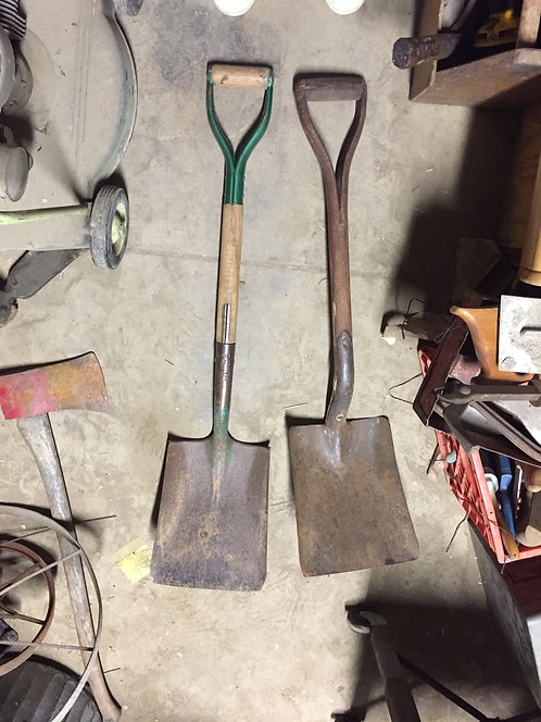 Flat Head Shovels