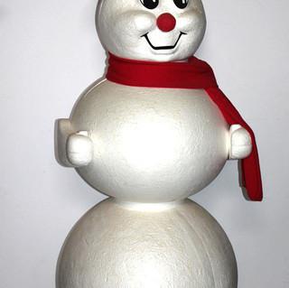 Stryrofoam Snowman