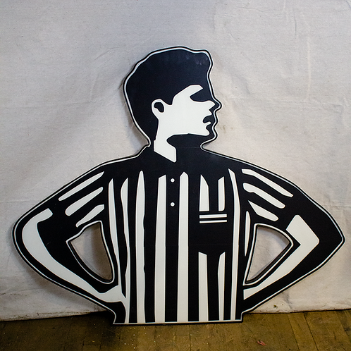 Foot Locker Referee Sign