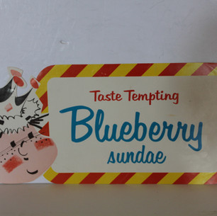 Taste Tempting Blueberry Sundae