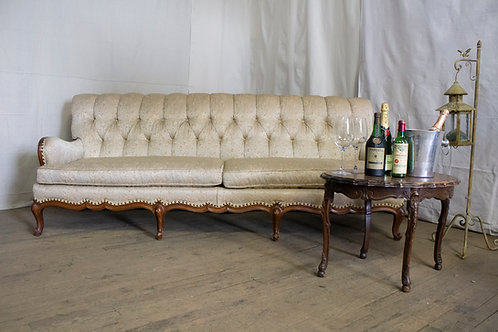 Long Cream Couch