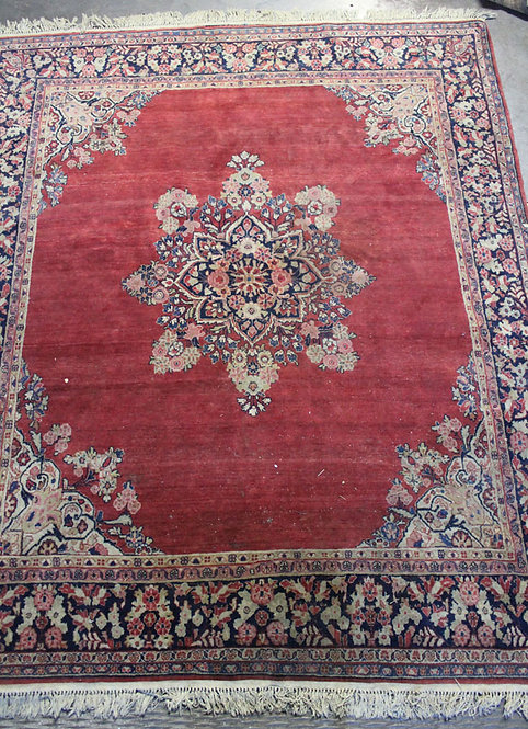 #27 Red Persian Rug