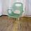Thumbnail: Seafoam Green Plastic Chair