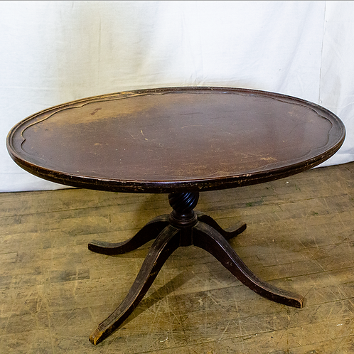 Oval Low Side Table