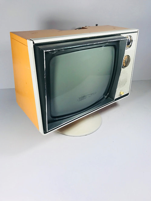 Zenith Tube Television on Stand