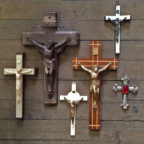 Various Crosses & Crucifixes